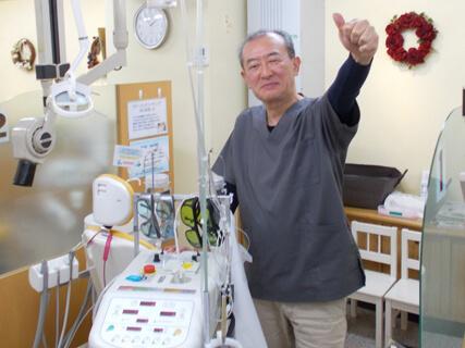 川崎市野上歯科医院 ストリークレザー写真