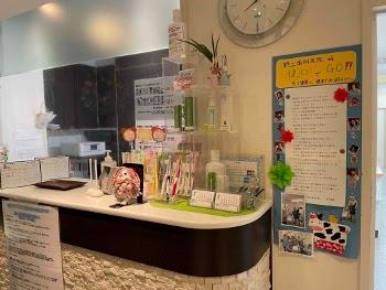 川崎市野上歯科医院 受付横写真